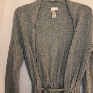 Valerie Bertinelli Cardigan with Tie Waist